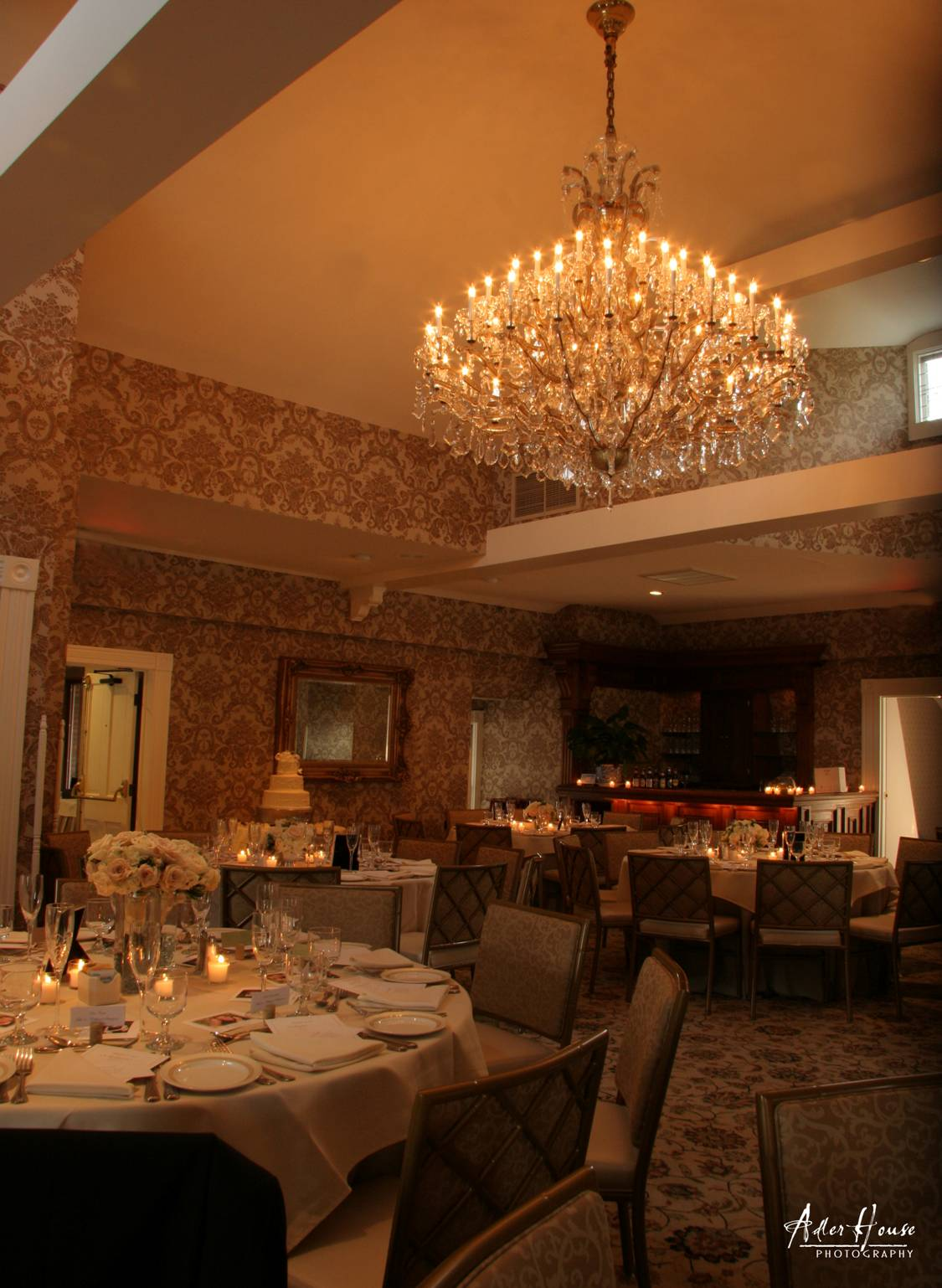 The Van Loon Ballroom banquet room