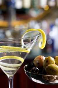Lemon martini photo